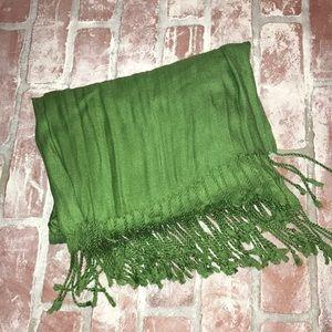 Kelly Green shawl/scarf
